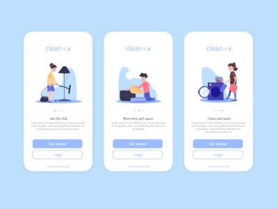 clean x concept