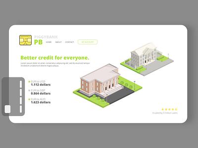 piggybank website mockup logo design design branding