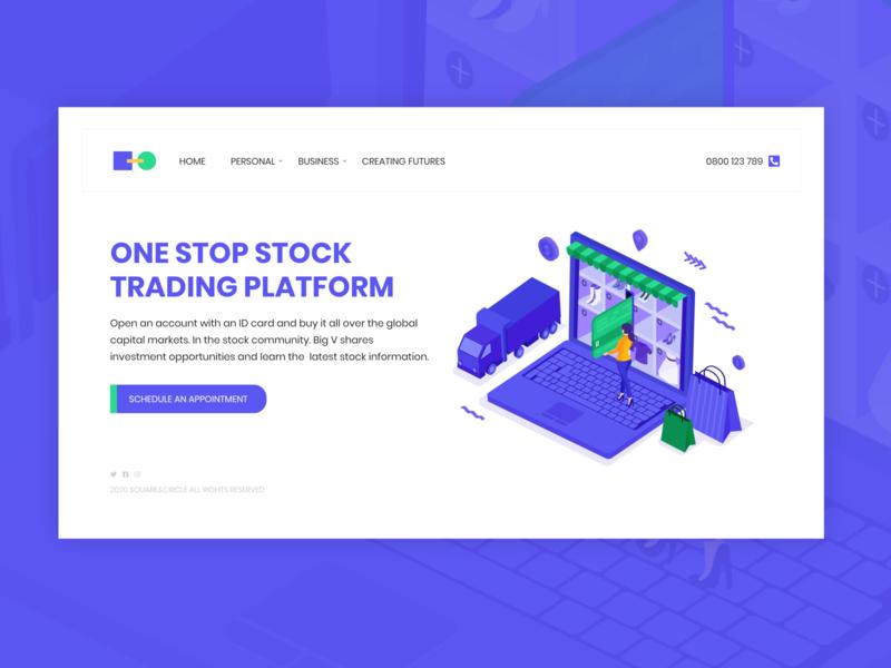 Trading platform concept design