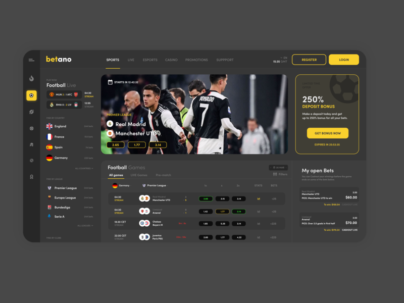Betano concept design branding bets minimalist ui web minimal 2d flat website mockup design