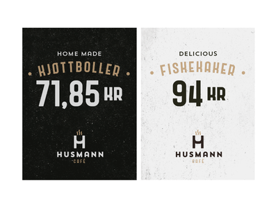 Husmann Café, Meals price tags cafe meals tag price card dishes food