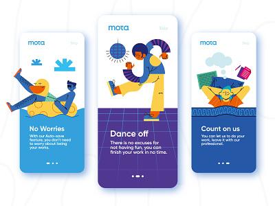 On-Boarding! landing page website app design modern people flat header startup mobile onboarding application app ux ui illustration