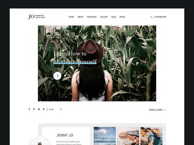 Jo - Photography Portfolio WordPress Theme