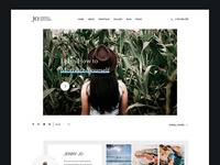 Jo - Photography Portfolio WordPress Theme