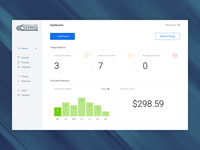 Shipping Dashboard Homepage