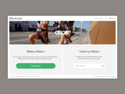 Returns Platform - Homepage v.2