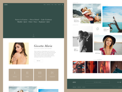 Asra - Exclusive Photography WordPress Theme