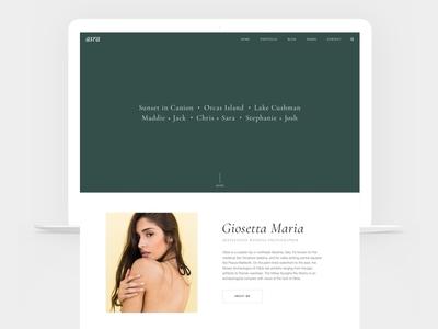 Asra - Responsive Photography WordPress Theme