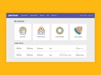 ONETRAK - Client Area