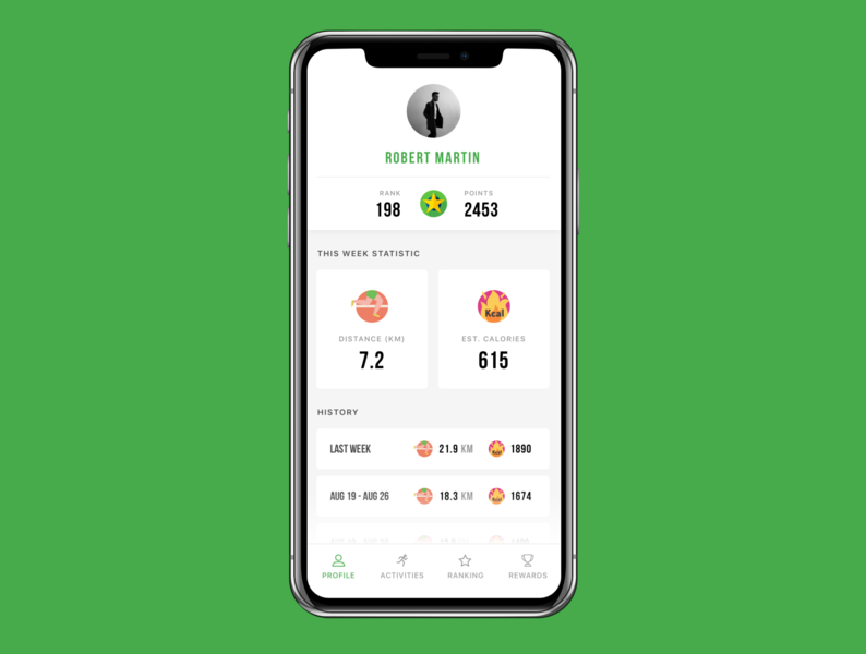 Freebie - Free Sport & Fitness iOS App Design ios app design clean app modern app sport app fitness app ios design free ios app free sketch freebie free