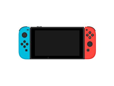 Nintendo Switch vector art vector tablet controller gaming videogames switch nintendo
