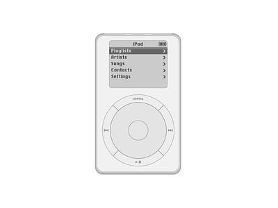iPod Classic pod vector art vector click wheel ipod classic ipod apple