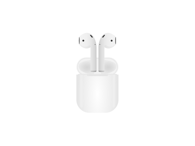AirPods vector art vector air pods airpods apple