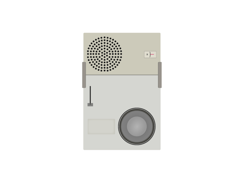 Braun model tp1 dribbble