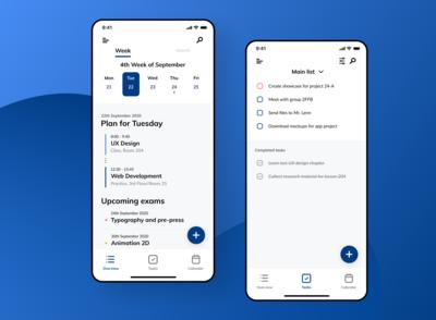 Semester - Concept app design
