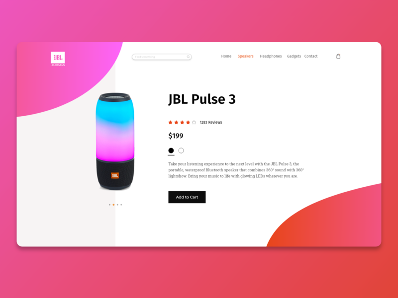 JBL Redesign