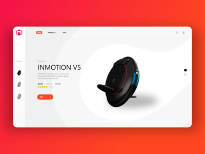 INMOTION redesign