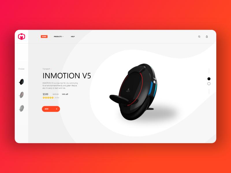 INMOTION redesign