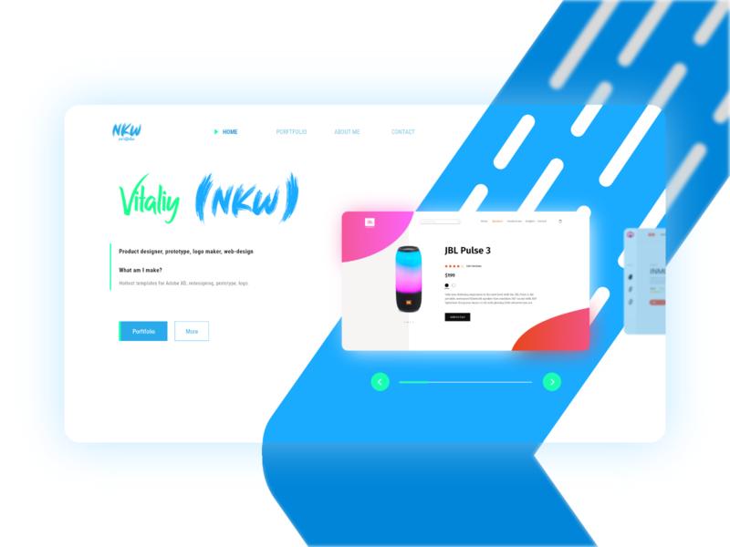 NKW portfolio web-site