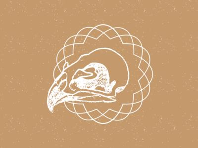 Hawk Skull Orb