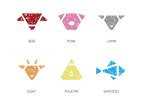 Marbled Meat Shop Icons