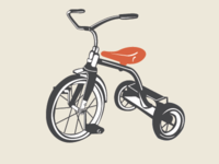 Tricycle Illustration