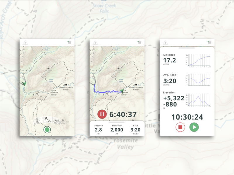 Daily Challenge 020 - Location Tracker gps tracker gps gaiagps dailychallenge app ui ux daily ui challenge location tracker dailyuichallenge dailyui020 daily ui dailyui