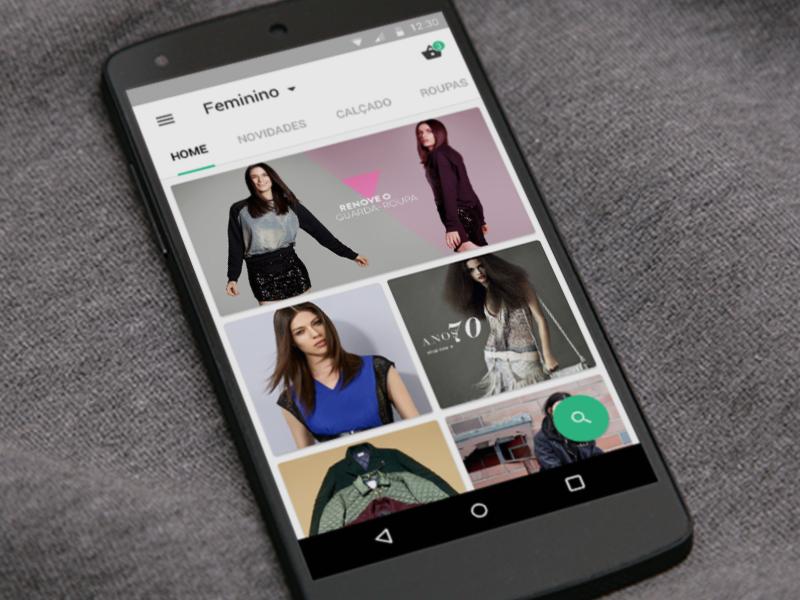 Dafiti - brazilian fashion online shop brazil app android material design ui ux