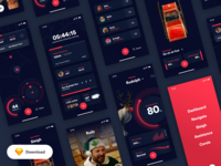Free UI Kit — Santa's Little Helper