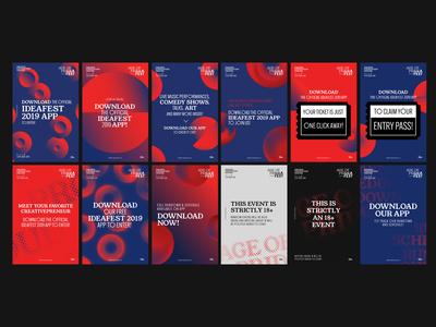 Ideafest 2019 - Visualisation Posters