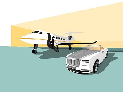 Jet Life hangar airport gulfstream g4 life jet