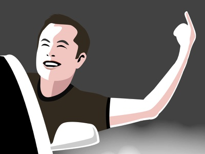 Elon Musk Illustration illustration musk elon