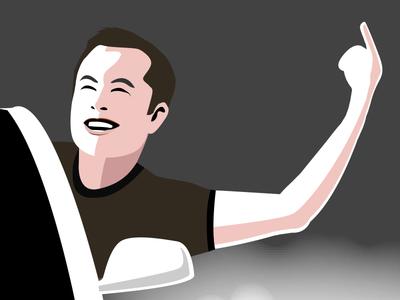 Elon Musk Illustration illustration musk elon