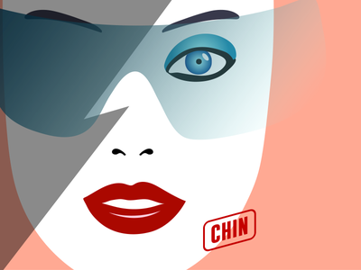 The future is electric illustration illustrator adobe vector face girl illustration electric future