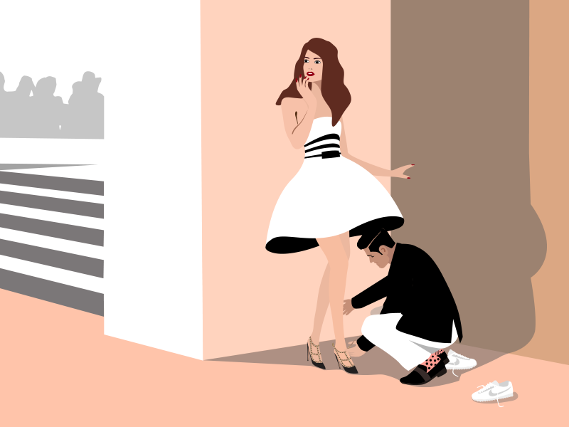 Fashion week shoe trick nike bally valentino trick shoe week fashion