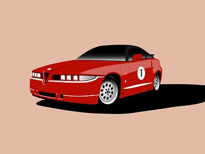 Alfa Romeo SZ alfa romeo sz