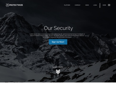 ProtectWize UI Design Project  1