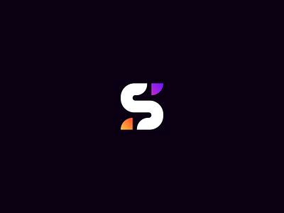 S Logo (Rebranding) monogram gradient logo minimal graphic design color vector design
