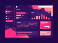 UI concept - Dashboard