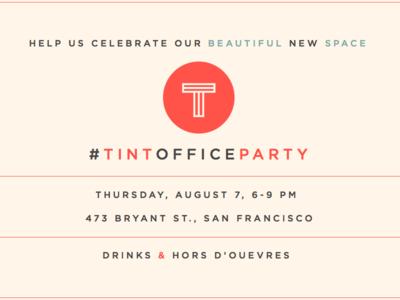 Office Party Tint-vitation