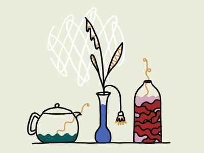 kimchee & tea