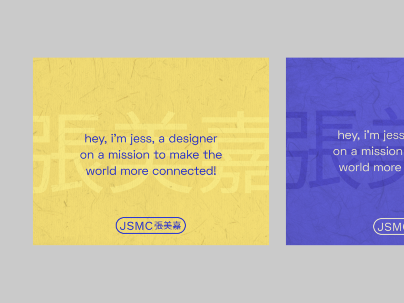 personal branding with washi paper