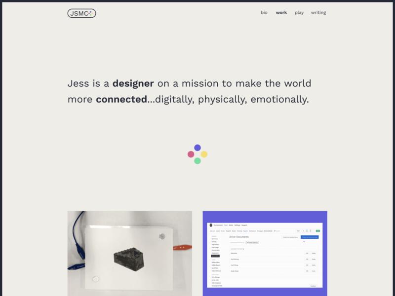 portfolio redesign progress (itsjess.webflow.io)