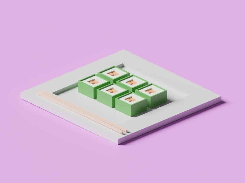 3D Sushi