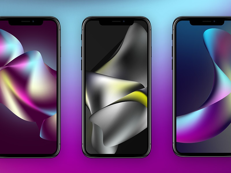 Freebie: Abstract iPhoneX Wallpaper Series