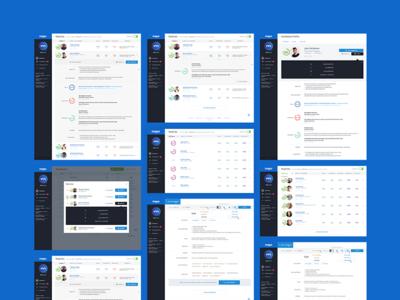 Majio - Overall Screens big data data popup listing dashboard hr careers ai majio