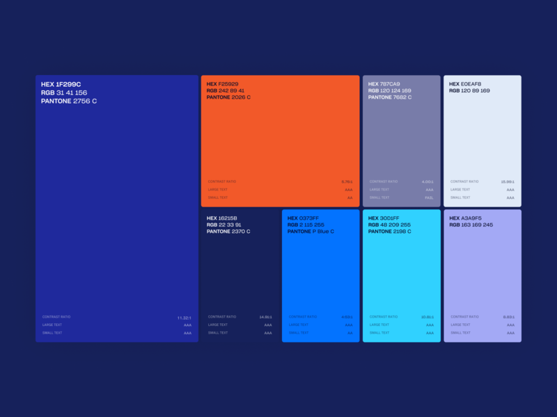 Beta Peak Color Palette scheme colorscheme colors palette web design studio vector user interface user experience landing branding interface web homepage web design webdesign website design ux ui