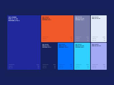 Beta Peak Color Palette scheme colorscheme colors palette web design studio vector user interface user experience landing branding interface web homepage web design webdesign website design ux ui