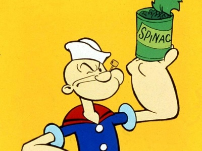 How Does Spinach Increase Strength? spinach popeye food facts