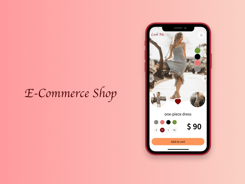Daily UI Challenge 012 : E-Commerce Shop design ui dailyui012 daily 100 challenge dailyui